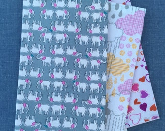 3 pack of Baby Burp Cloths