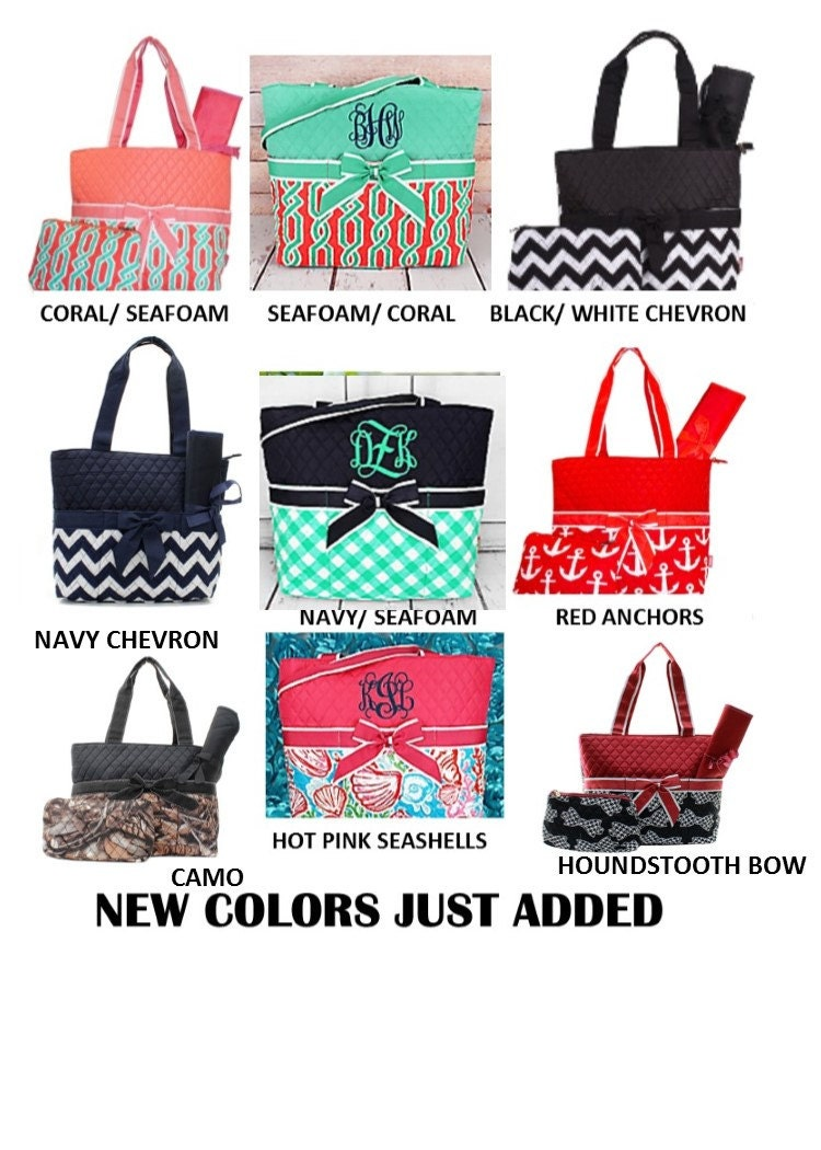 diaper bags monogrammed baby gift baby shower boys girls. Black Bedroom Furniture Sets. Home Design Ideas