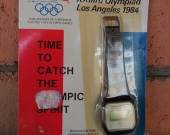 1984 Los Angeles Olympic Games Watch