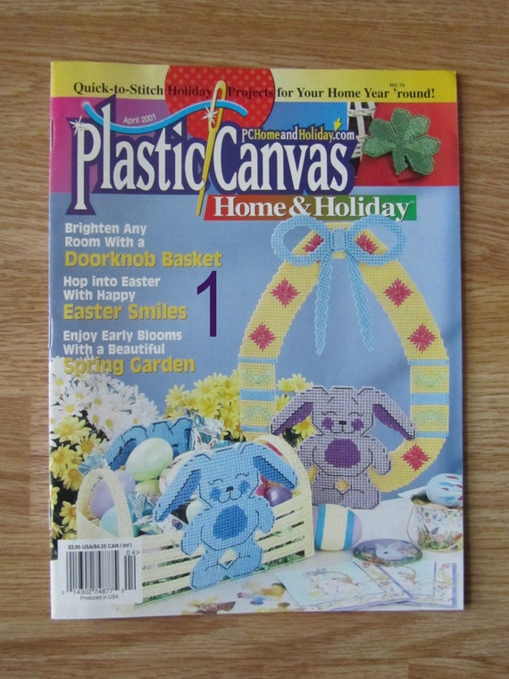 Plastic Canvas Magazines Spring Easter Holiday, Blossoms, Butterflies,  Motheru0027s Day Themes And Celebration Projects, Spring Garden Designs From ...
