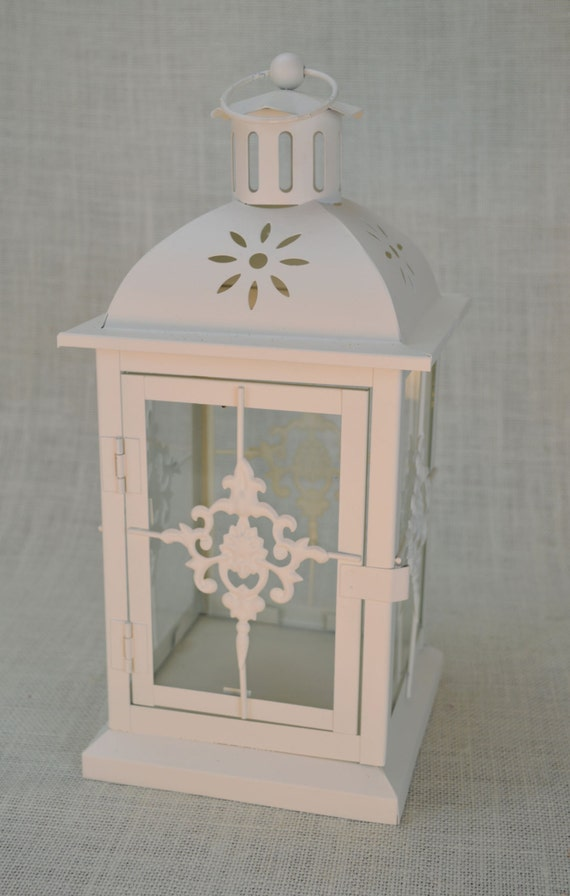 No l a wedding lantern centerpiece ivory off white