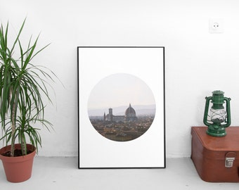 Florence Print, Printable Art, Florence Italy, Italy Photography, Italy Art, Italy Photo, instant download
