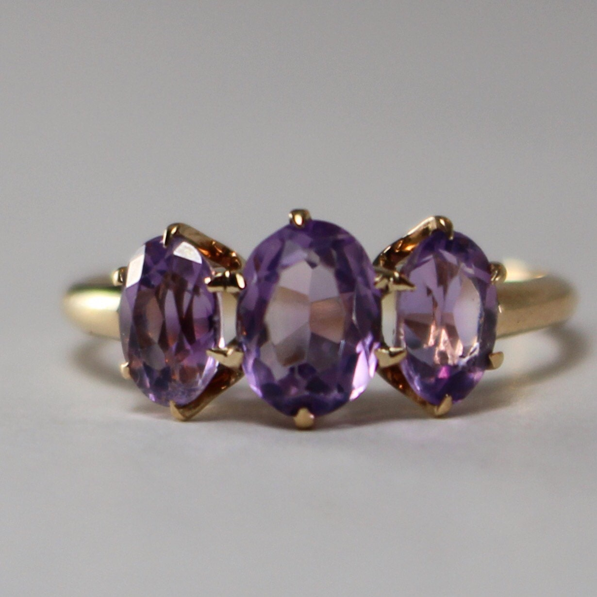 amethyst ring vintage - photo #16