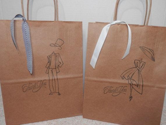 Wedding Gift Bags For Groomsmen : WEDDING PARTY GIFT Bags, Bridesmaids Gift Bag, Groomsmen Gift Bags ...