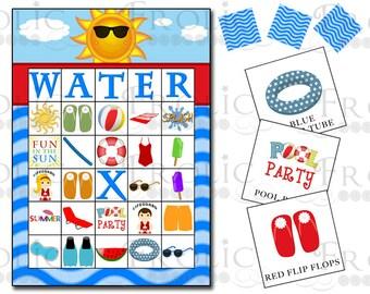 Hawaiian Bingo Template - 0425