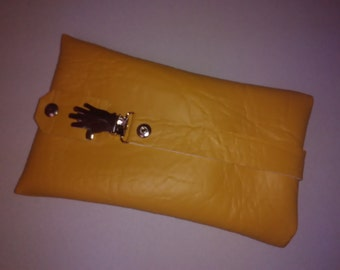 Chic Minibag / cell phone pocket in the colour sand