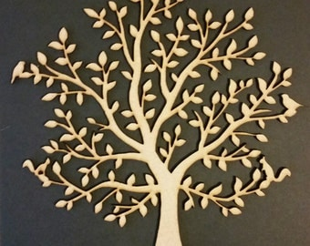 Plain Wooden MDF Family tree, crafting, weddings, guestbooks 008                Buy 4 get 1 free