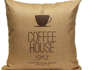 Coffee House - Pillow Cover