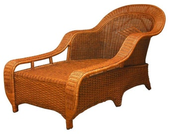 French Chaise Lounge Etsy