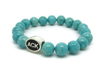 Nantucket, ACK, Nantucket Jewelry, Nantucket Bracelet, Nantucket Gifts, Nantucket Bead, Nantucket Charm, Nantucket Style, Turquoise