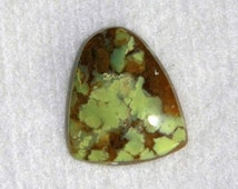Opal, African Opal, Lime Green, Cabochon, Gemstone, Natural Stone, Focal Stone, Lapidary, Wire Wrap, 26mm