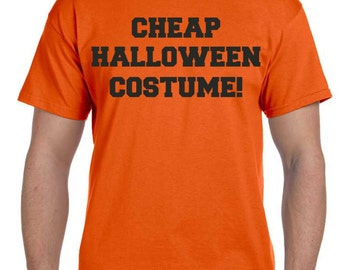 CHEAP HALLOWEEN COSTUME. Halloween Costume. Mens halloween shirt . Funny Halloween Costume .  Guys Halloween t-shirts . Halloween Shirts.