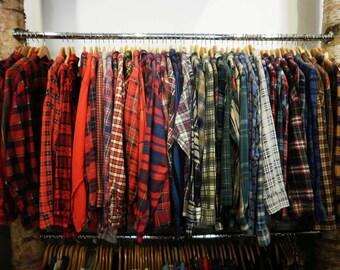 Vintage Oversized Flannel- You PICK Pattern