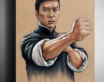 Donnie Yen: Ip Man - Illustrated Giclee Print