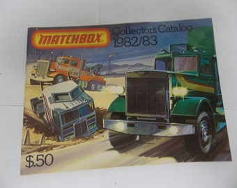 MATCHBOX 1982/83 Collectors Catalog