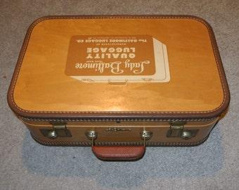 Lady Baltimore Salesman's Sample Wooden Suitcase