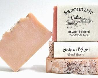 Acai berries Handmade soap-gift for mom
