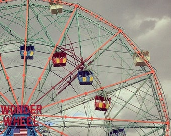 Travel Photography - Wonder Wheel