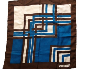 Givenchy Graphic Silk Vintage Scarf