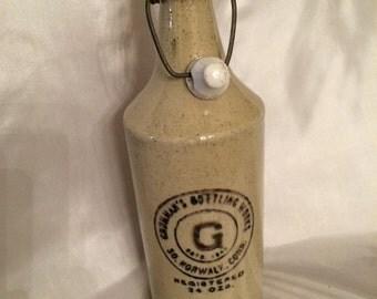 Grumman's Bottling Works Ginger Ale Bottle