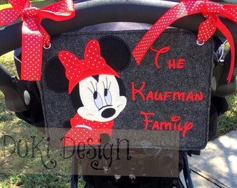 Choose Your Character Embroidered Stroller Tag