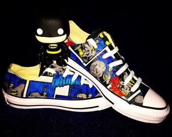 Batman Comic Converse