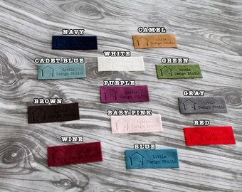 50 Unique Luxury Velvet Tags/clothing labels