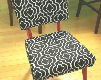 Mid Century Vintage Upholstered Accent Chair