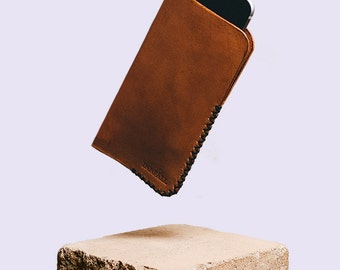 Handmade leather iphone case - VORMA 5/5s/6/6+
