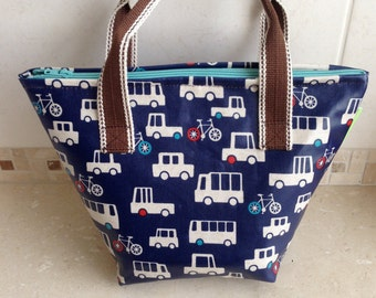 Lunch bag/Laminated fabric