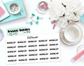 "SNARK SERIES: ""Geeking Out"" Paper Planner Stickers!"
