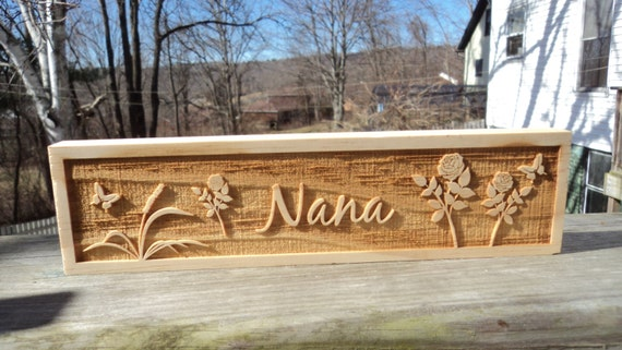 Personalized engraved wooden name plate for office , school or home 2 ...