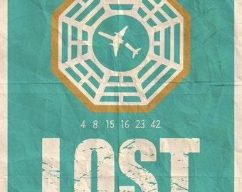 Lost Minimalist Poster