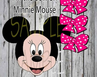 Minnie Mouse  Pin the Bow on Minnie Game for your Birthday Party