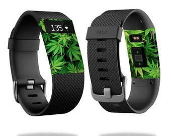Skin Decal Wrap for Fitbit Blaze, Charge, Charge HR, Surge Watch cover sticker Weed