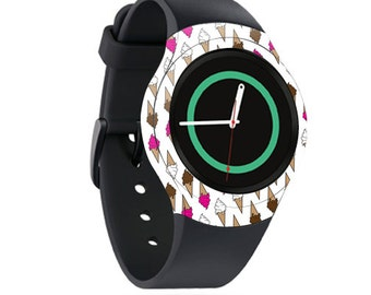 Skin Decal Wrap for Samsung Gear S2, S2 3G, Live, Neo S Smart Watch, Galaxy Gear Fit cover sticker Ice Dream