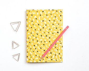 A5 Patterned Notebook - Dancing Shapes
