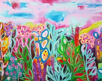 Abstract Art Print , Abstract Giclee Print , Art Print , Large Art Print , wall art , large art , colorful wall art , fine art