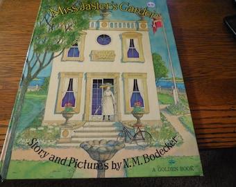 Rare 1972 Golden Press Miss Jaster's Garden by N.M. Bodecker