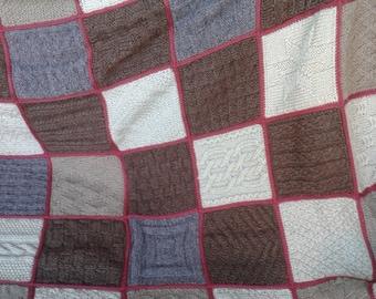 handmade crochet wool blanket 4 new (custom)