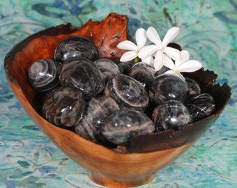 1 BLACK MOONSTONE Tumbled Stone - Black Moonstone Crystal, Black Moonstone Stone, Tumbled Black Moonstone, Black Moonstone Gemstone