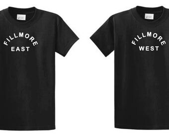 Fillmore East/West T-shirt  Grateful Dead, 60'S  , 70'S MUSIC