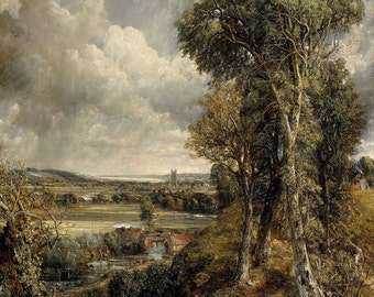 John Constable: The Vale of Dedham. Fine Art Print/Poster (0066)