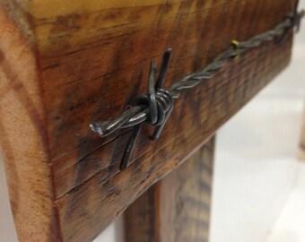 Wooden Cross,Wall Cross, Rustic Cross, Reclaimed Wooden Cross