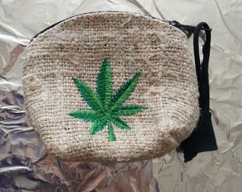 Hemp coin purse from Amsterdam