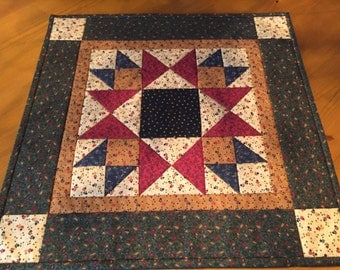 Quilted Table Topper /  Item #1321