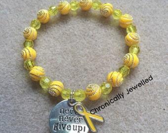 Endometrosis Awareness Bracelet