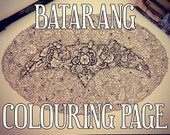 Batarang Detailed Colouri...