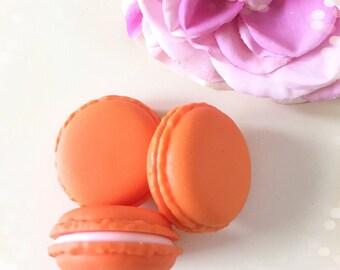 Mini Macaron Storage Pot...Orange