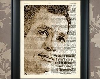 Jack Kerouac, Saying, Jack Kerouac print, Jack Kerouac Poster, Jack Kerouac art, Jack Kerouac quote, Kerouac Wall Art, beat generation